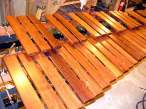 Low end Honduras Rosewood Marimba Keyboard.