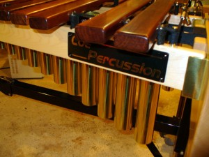 Logo Plate on the Low side of the Xylophone.