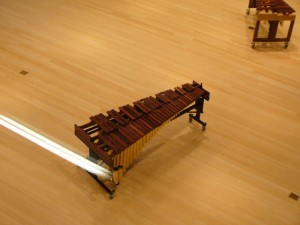 View of the 4.6 Octave (Low E) Concert Marimba from above!