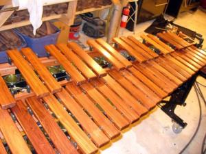 Marimba Keyboard Honduras Rosewood.