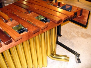 Low end of Marimba in our shop.