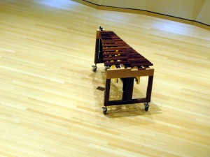 View of the 4.0 Octave Concert Xylophone from above!